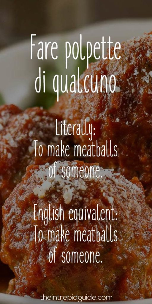 English In Italian: Italian Sayings: 26 Food-Related Insults & Why You Won't