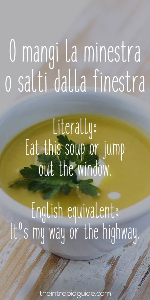 Italian Sayings: 26 Food-Related Insults & Why You Won't ...