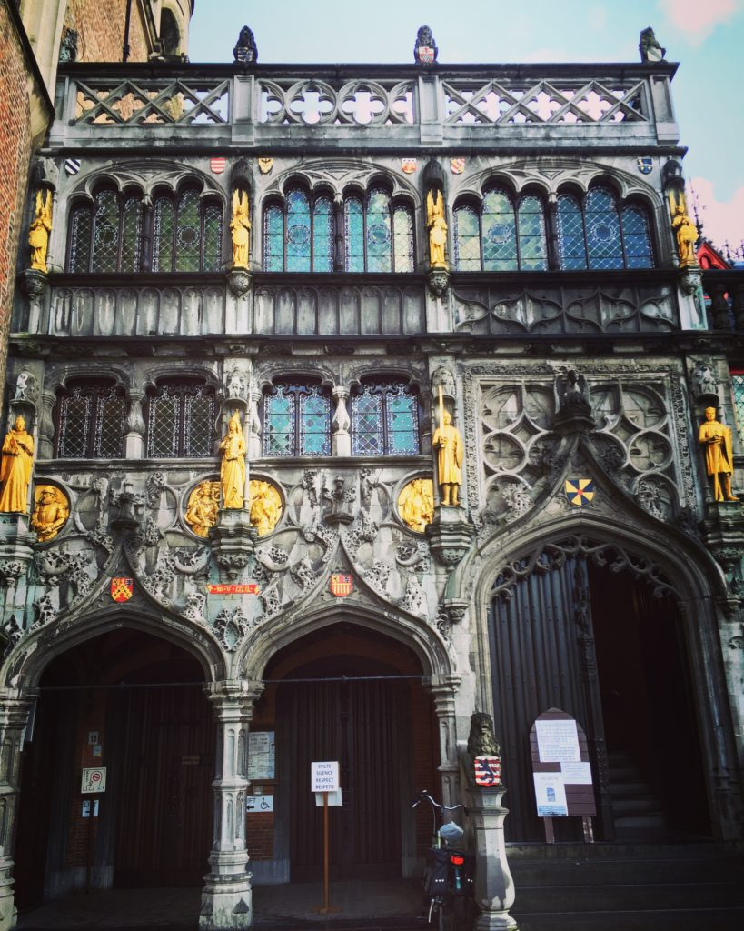 things to do in Bruges Basilica Of The Holy Blood