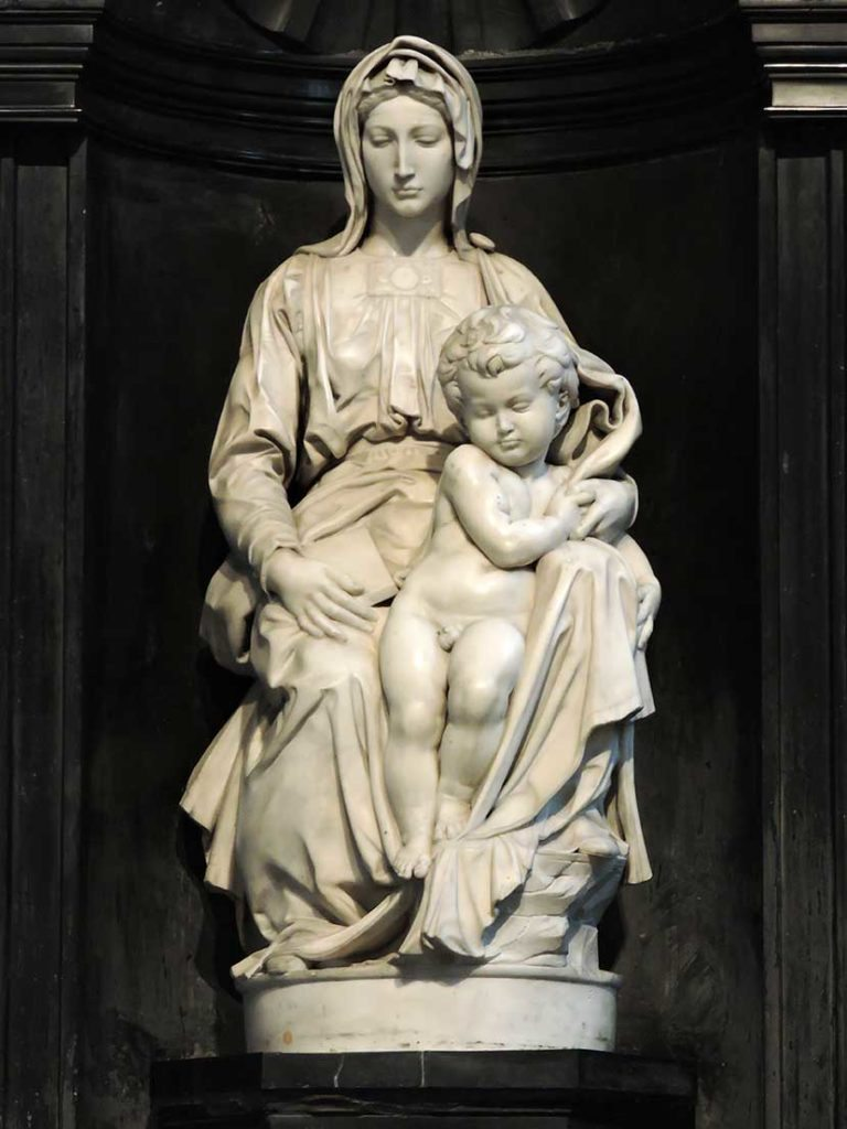 top 10 things to do in Bruges Madonna And Child