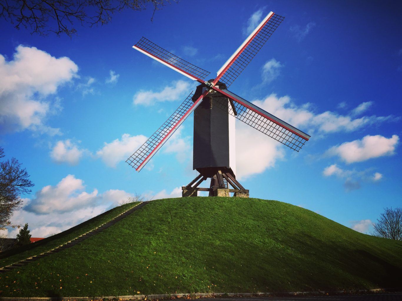 things to do in Bruges Windmill