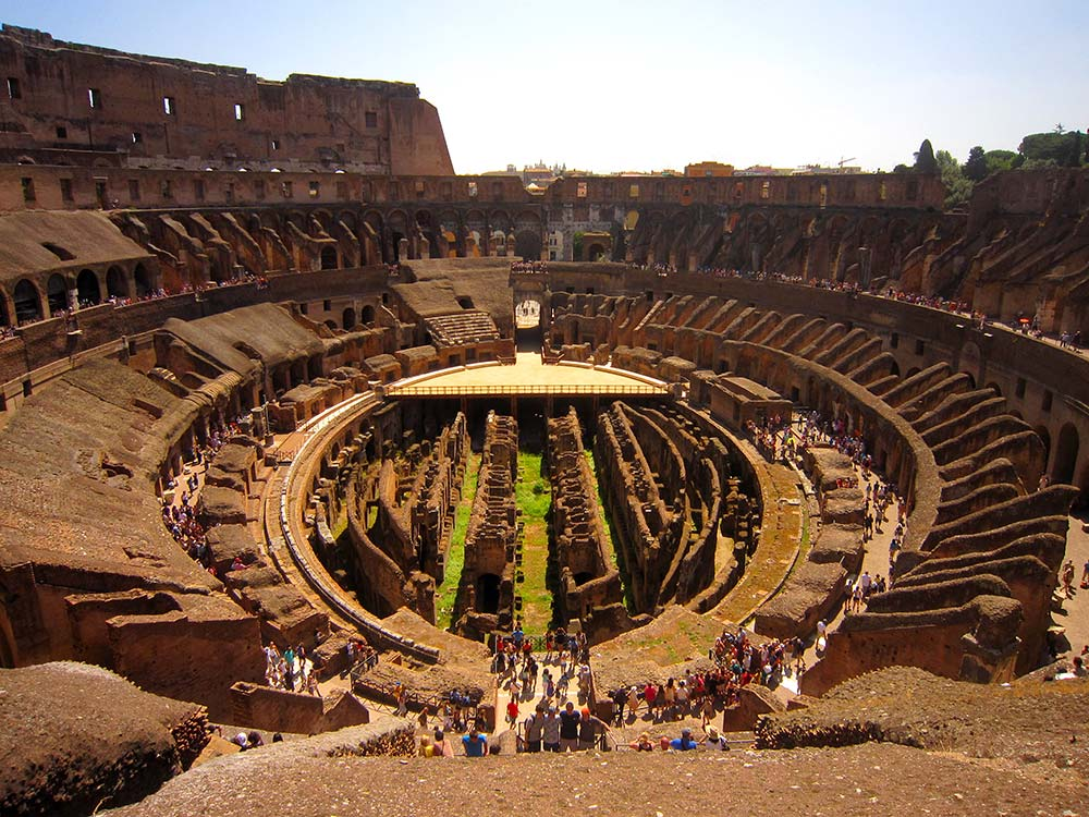 Top 10 things to do in Rome Colosseum