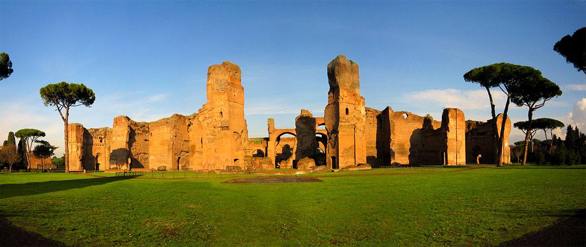 Top 10 things to do in Rome Le Terme di Caracalla