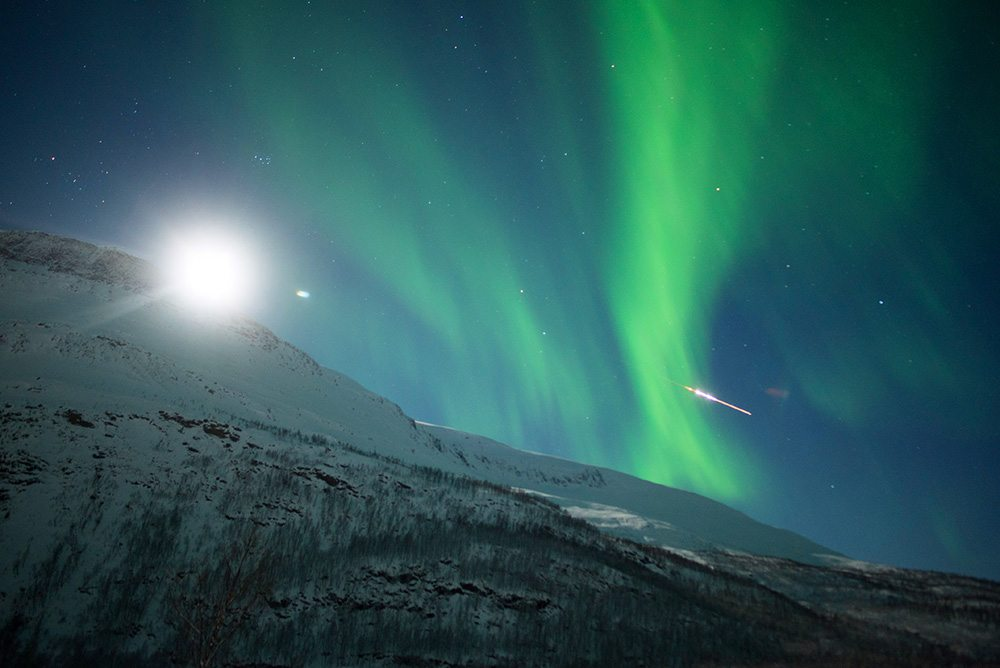 best place to see the Northern Lights Meteorite best place to see northern lights