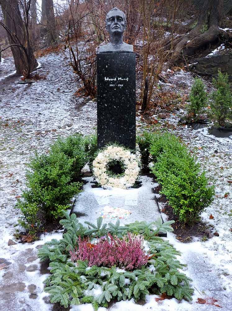 Edvard Munch Grave Oslo