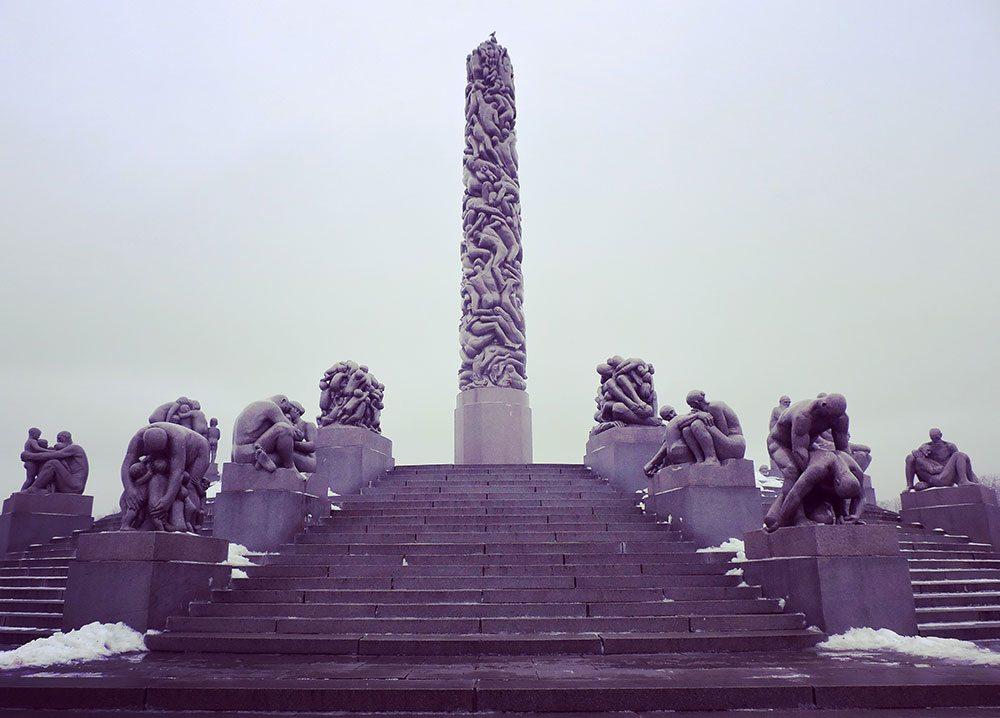 Gustav Sculpture Park Olso