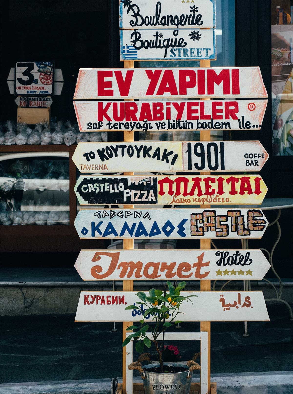 How many languages are there in the world 2019 - street signs