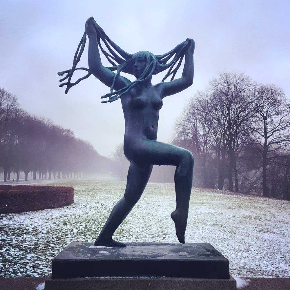 Free things to do in Oslo Vigeland Sculpture Park Oslo