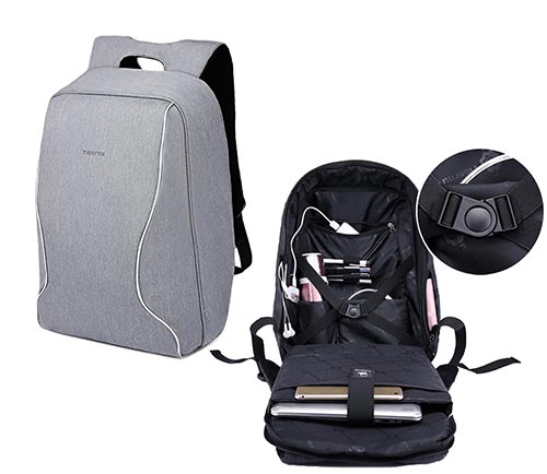 Best Travel Accessories 2017-Anti-theft Shockproof Backpack