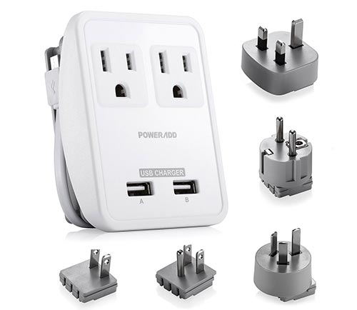 Best Travel Accessories 2017 Travel Charger Adapter