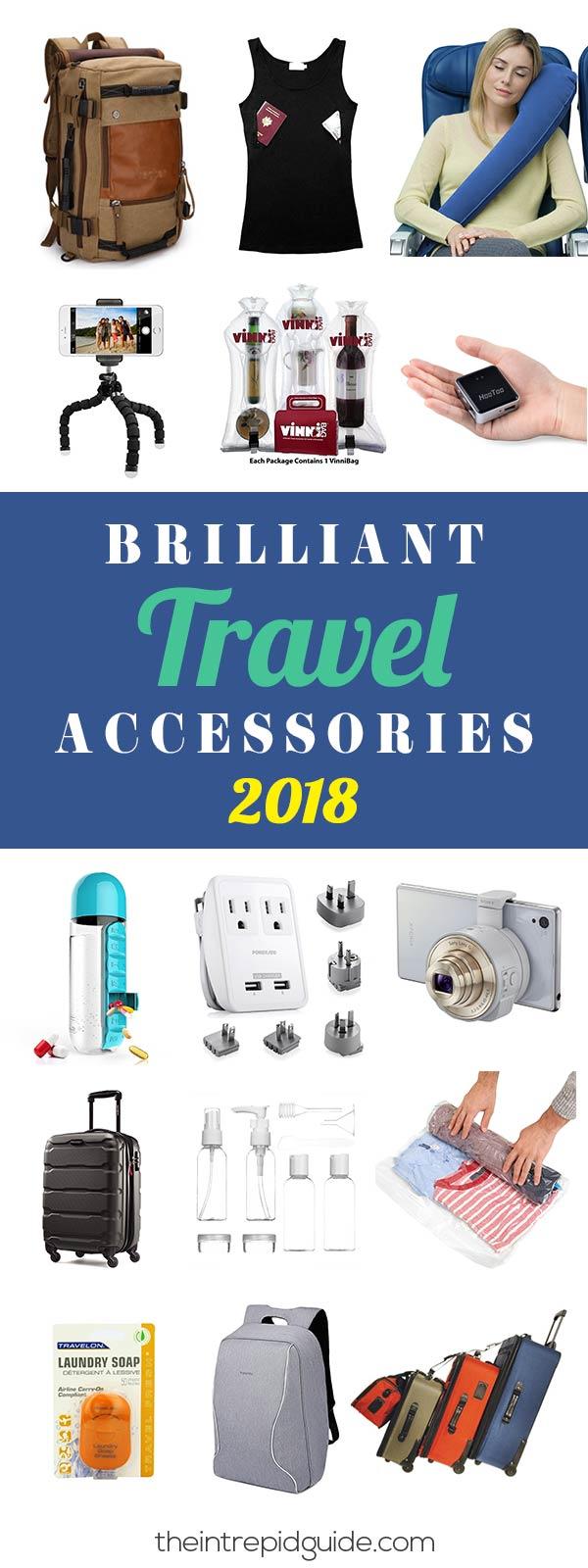 Best Travel Accessories 2018