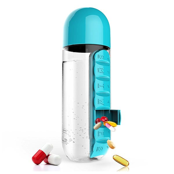 Travel Bottle and Pill Organiser