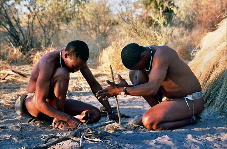 Khoisan Bushmen San