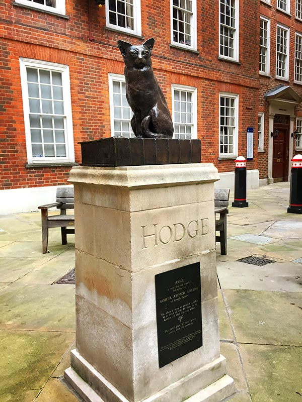 Samuel Johnson Hodge the Cat