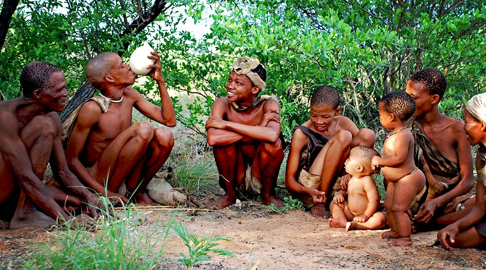 khoisan bushman clicking languages