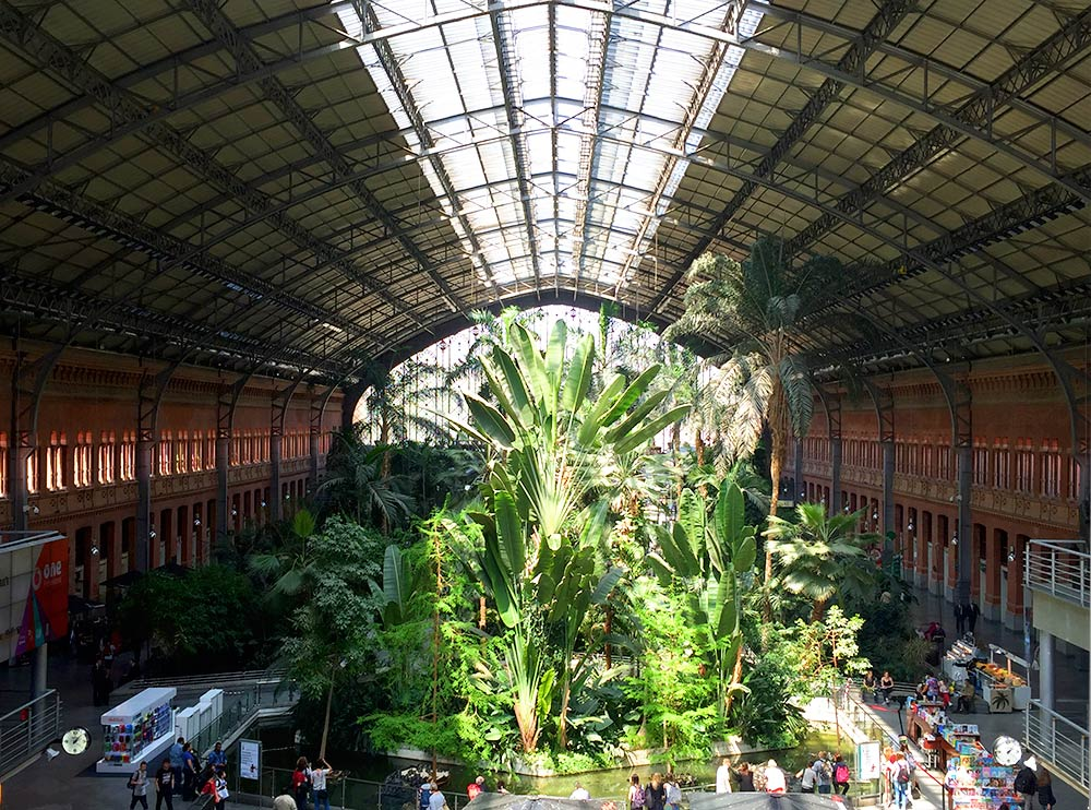 Atocha Train Station Madrid