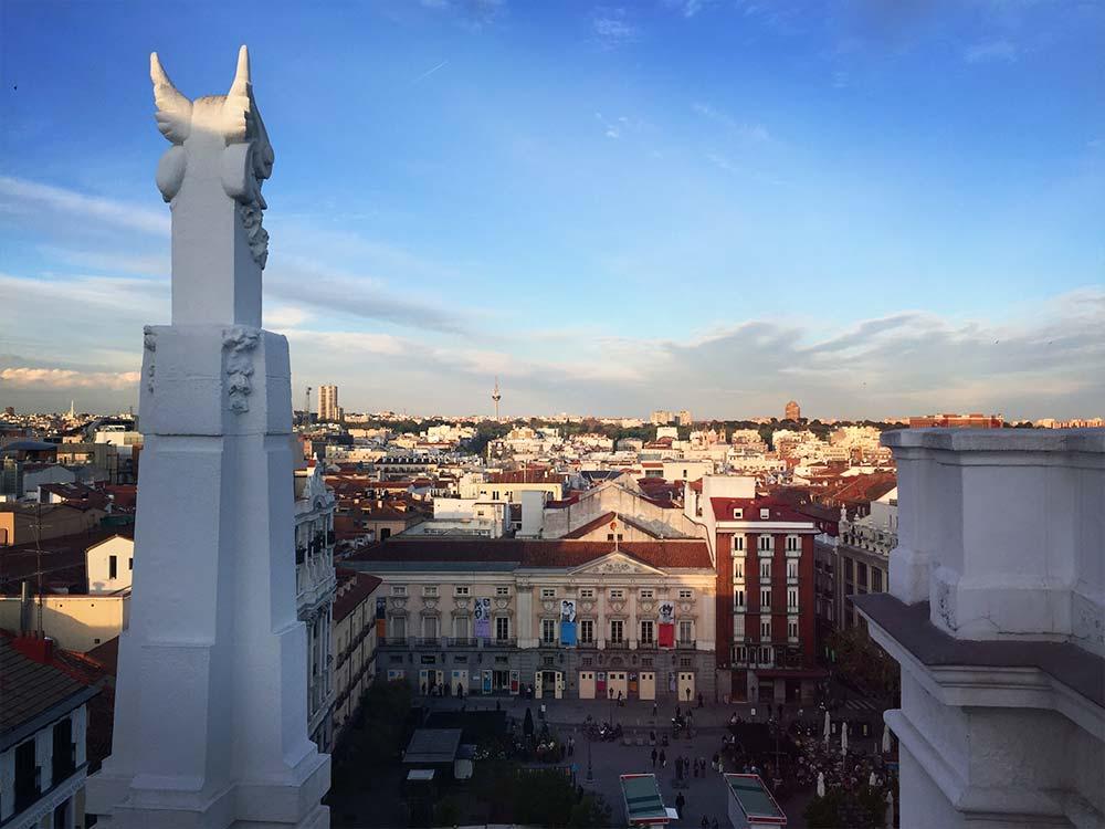 The Roof Bar Plaza de Santa Ana Madrid