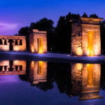 places in madrid Temple of Debod