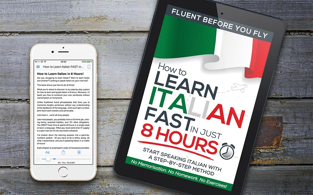 how to Learn Italian Fast