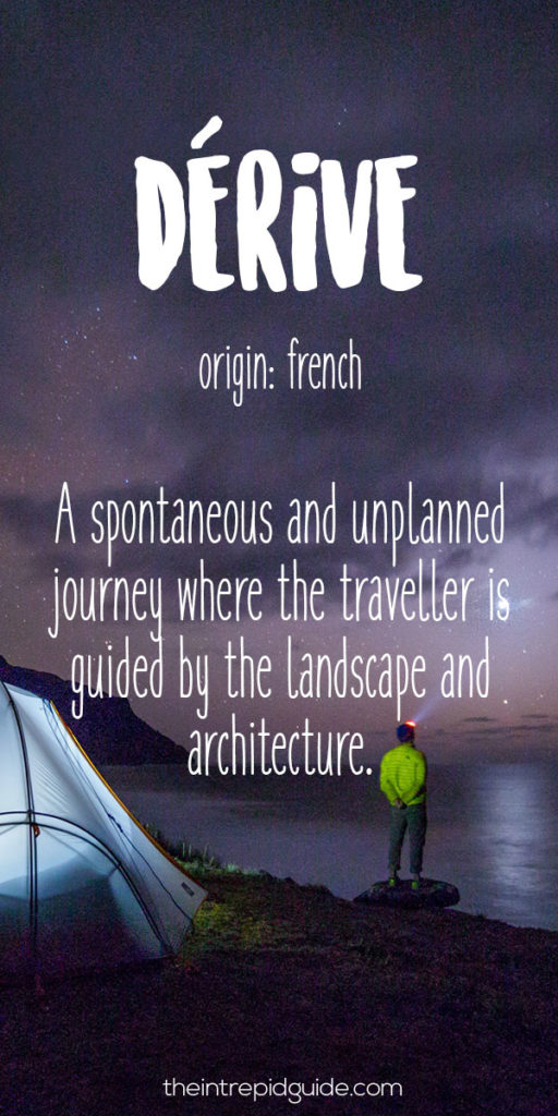 Travel-Words-Derive