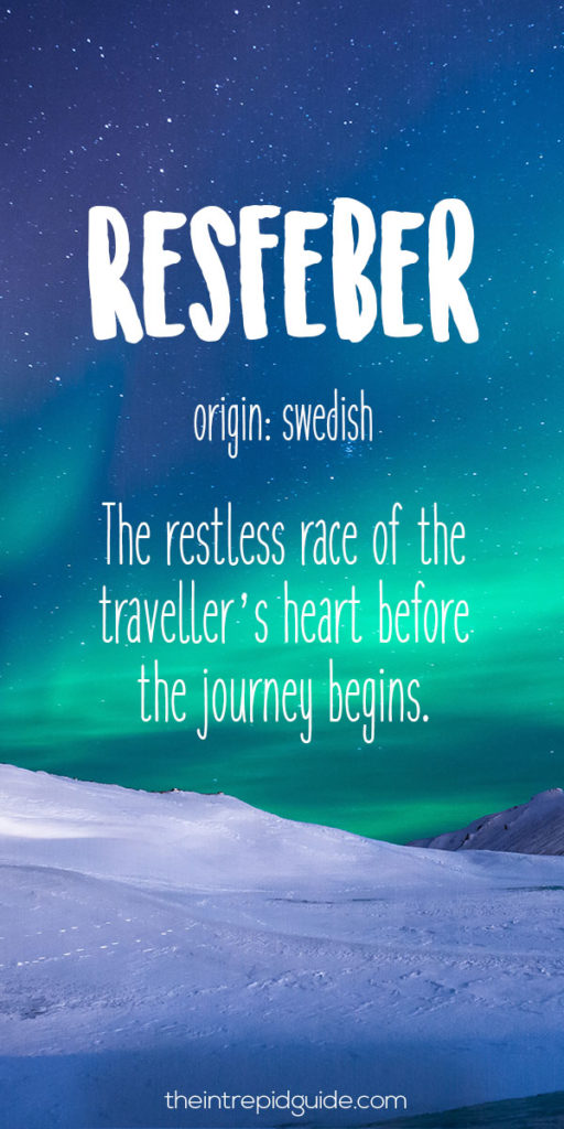 28 Beautiful Travel Words That Describe Wanderlust Perfectly