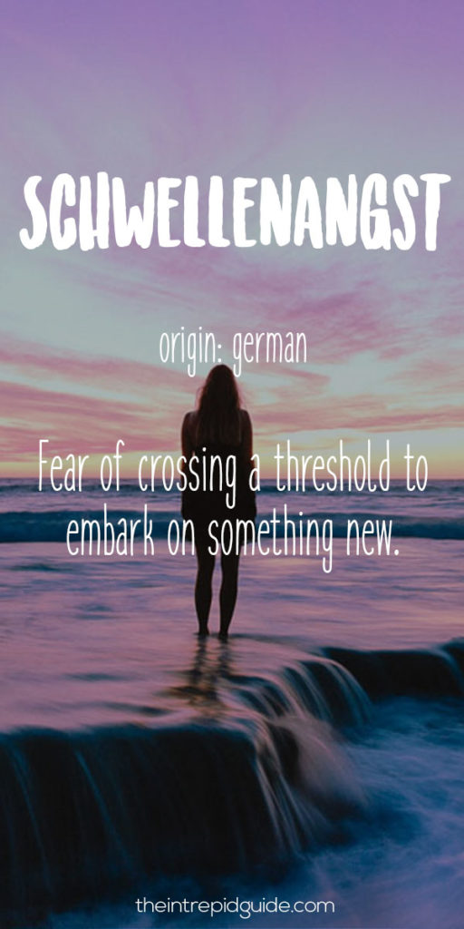 Travel-Words-Schwellenangst