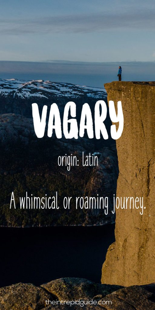 Travel-Words-Vagary