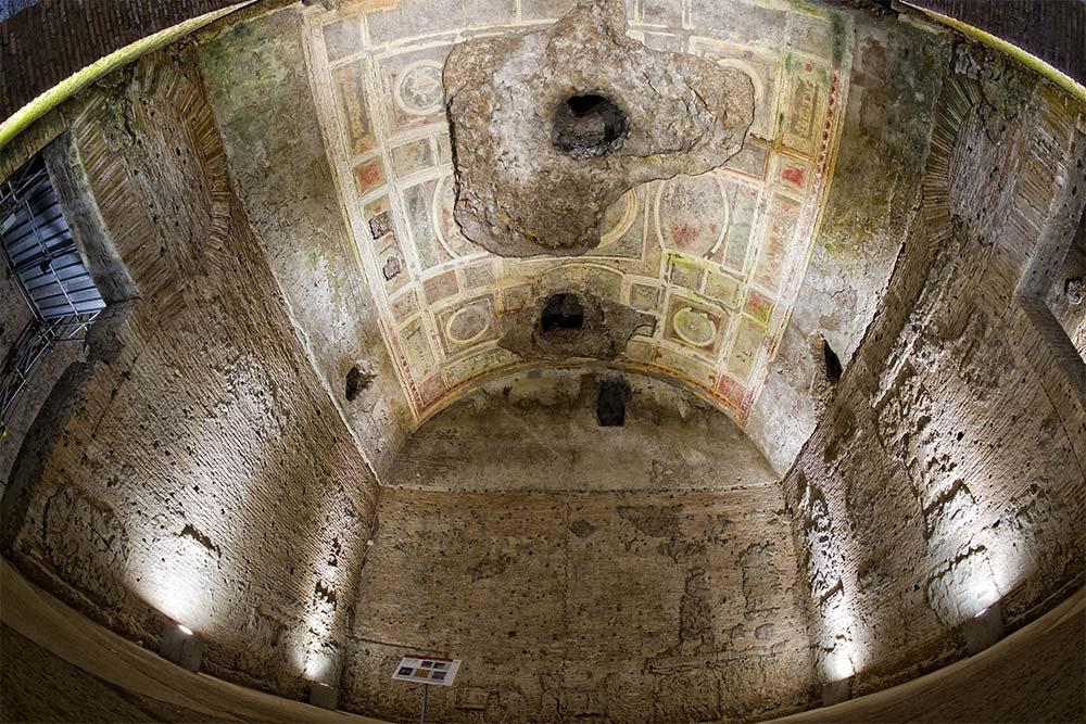 domus aurea the frecoes inside sala della volta dorata that inspired pinturicchio