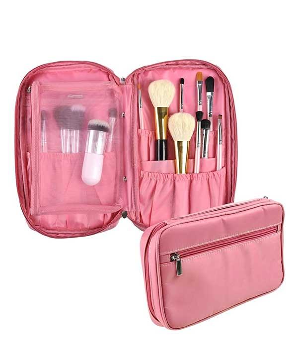 compact makeup brush organiser