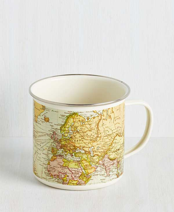 map out your morning travel mug