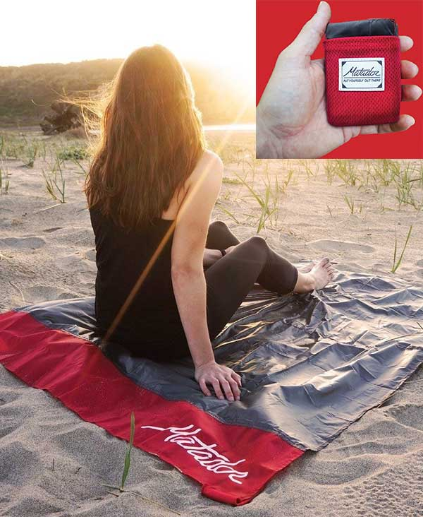 Best Travel Accessories 2017 travel pocket blanket