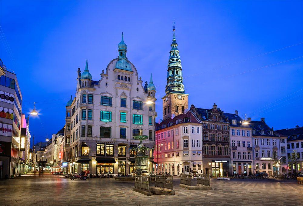 Amagertorv Square Stroget Copenhagen