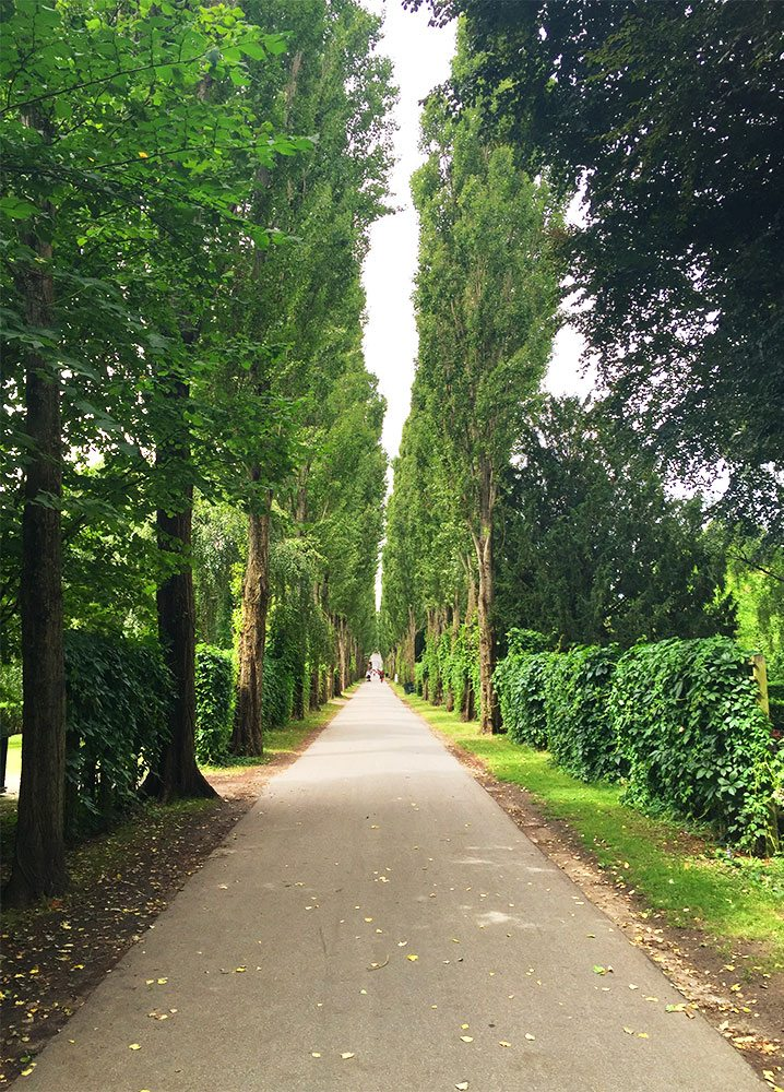 Hans Christian Andersen at Assistens Cemetery