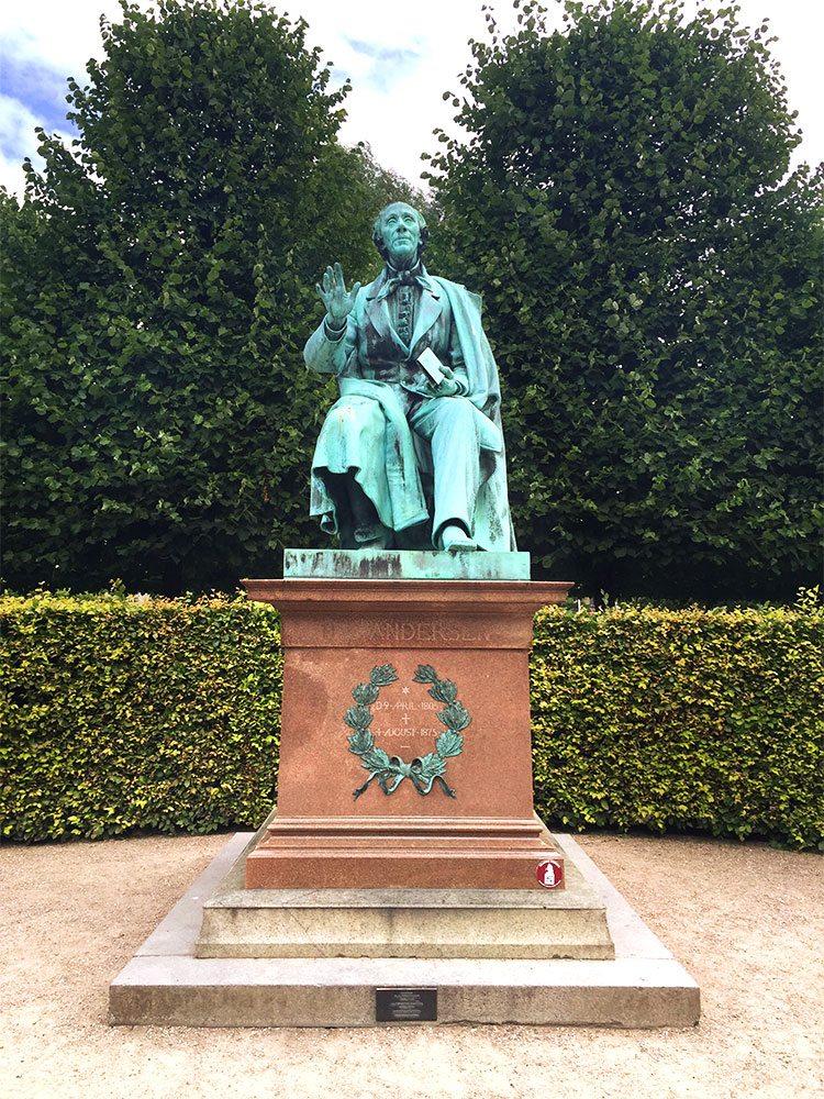 Hans Christian Andersen Rosenberg Gardens Copenhagen