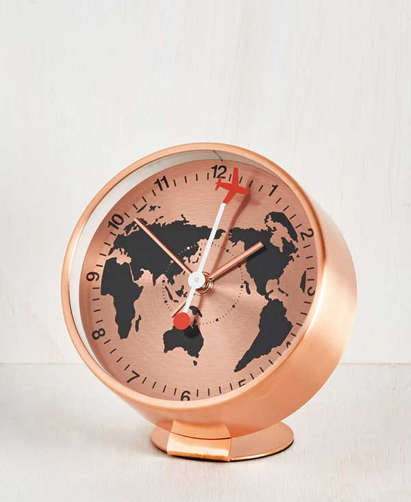 Have Time, Will Travel Alarm Clock