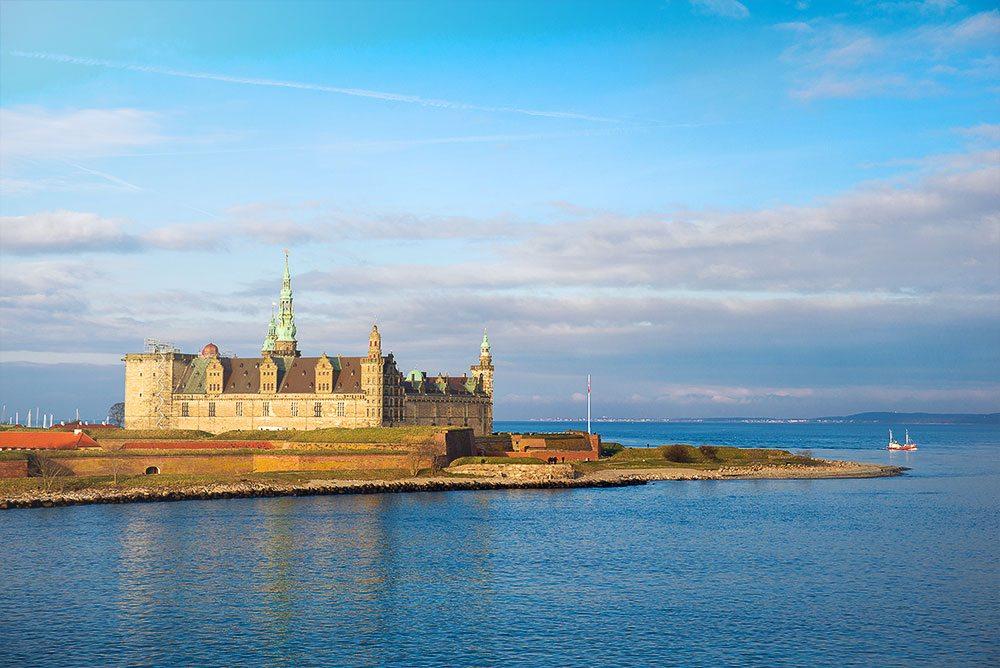 Kronborg Castle in Shakespeare's play Hamlet