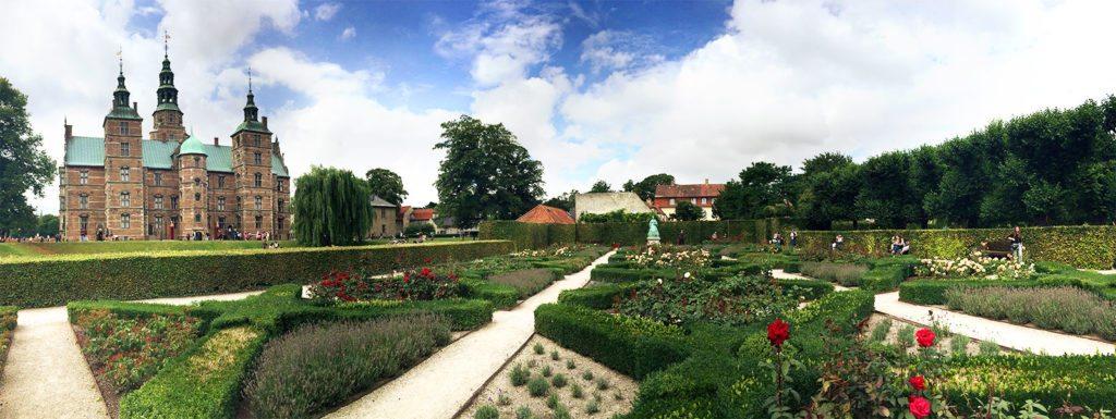 Rosenborg Castle and gardens Copenhagen