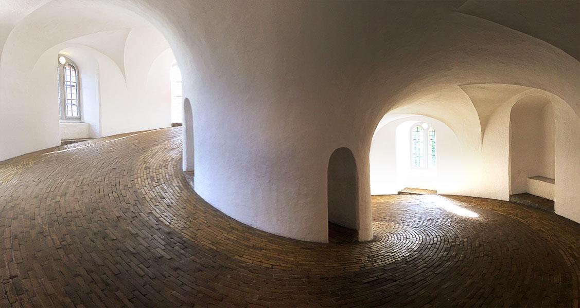 Spiral Path Rundetarn Copenhagen
