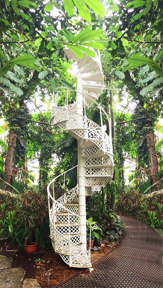 Spiral Stairs Botanical Gardens Copenhagen