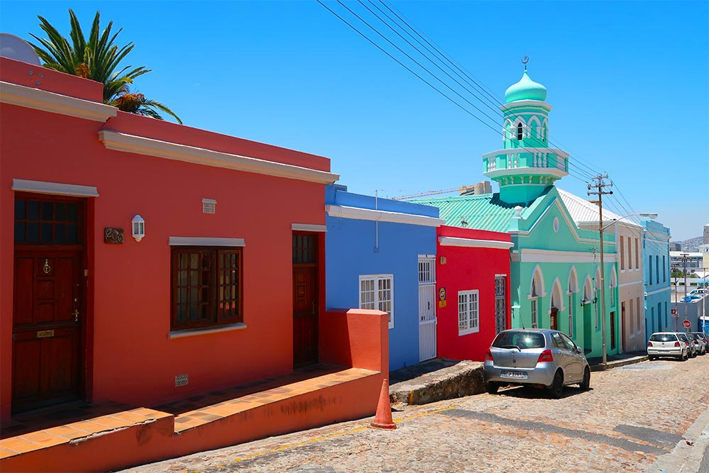 Bo Kaap Mosque Cape Town