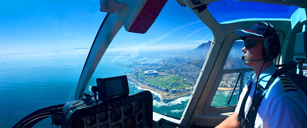 Cape Town Aerial View with NAC Helicopters