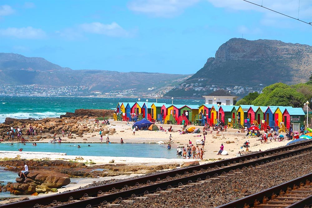 St. James beach Cape Town