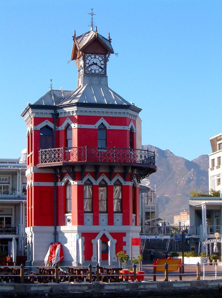 V&A waterfront clock tower