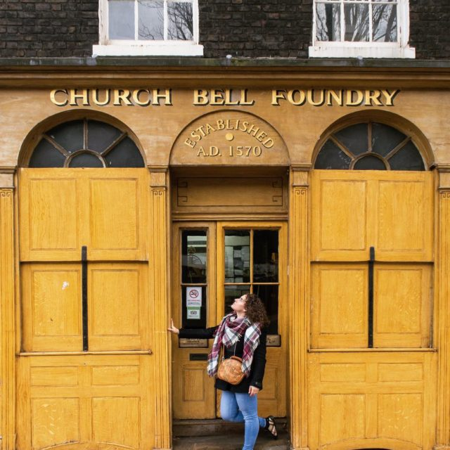 This unassuming building is The Whitechapel Bell Foundry company Britainshellip