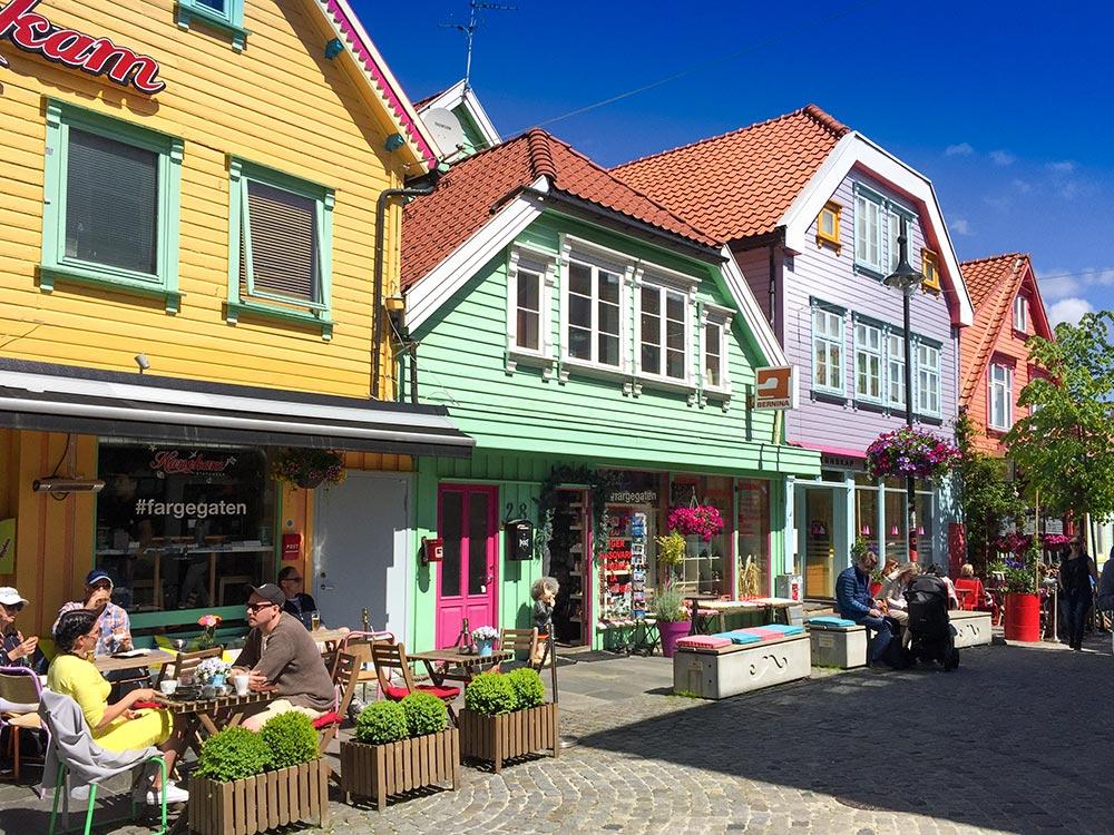 Ovre Holmegate Colour Street Stavanger