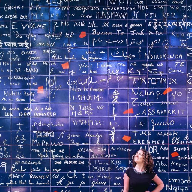 The writings on the wall Je taime Ti amo Ekhellip