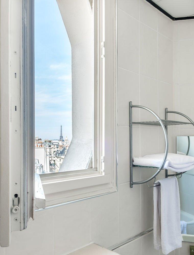 Hotel Trianon Rive Gauche Eiffel Tower Bathroom