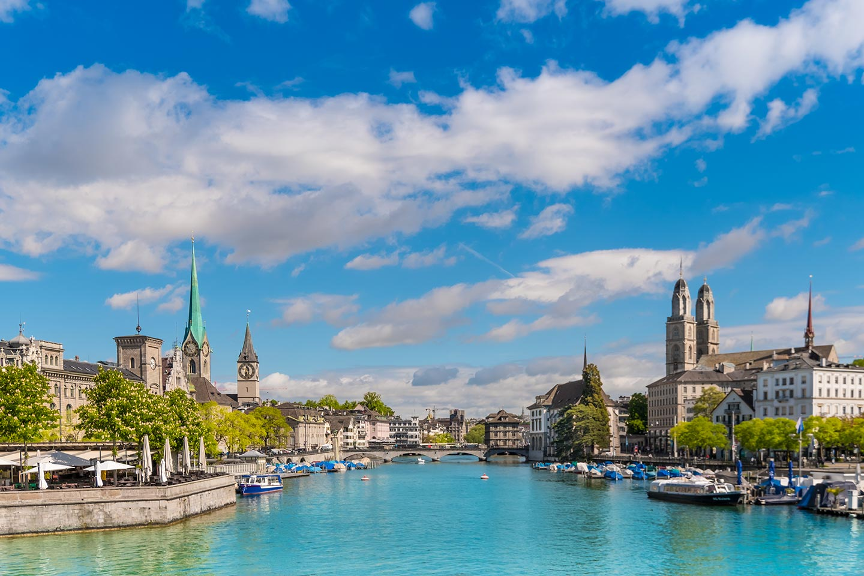 Things to do in Zurich - Lake Limmat Zurich