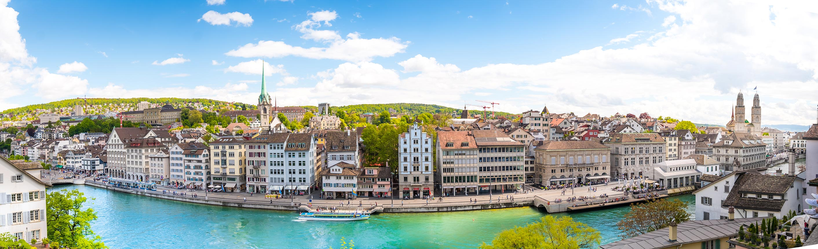 Lindenhof Panorama Zurich