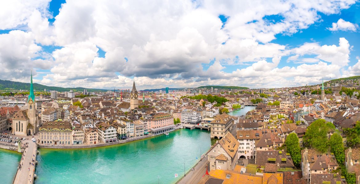 Things to do in Zurich View from Grossmunter